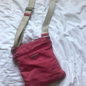 Authentic sporty Prada purse
